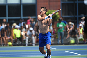 August 30, 2015 - Vasek Pospisil during the 2015 US Open at the USTA Billie Jean King National Tennis Center in Flushing, NY.