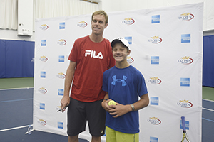 September 3, 2015 - Sam Querrey attends the 2015 US Open at the USTA Billie Jean King National Tennis Center in Flushing, NY. (USTA/Steven Ryan)