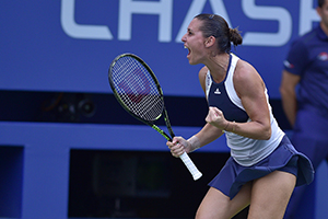 Pennetta's passion shows on court
